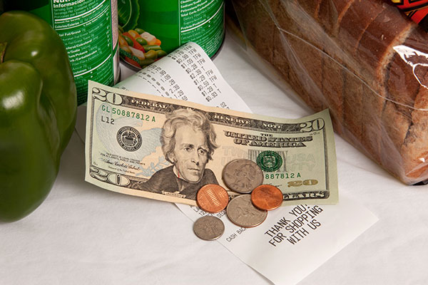 Groceries and Money